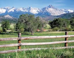 ranch and fence